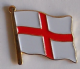 England Country Flag Enamel Pin Badge